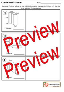 5th Grade: Combined Volume Classwork II