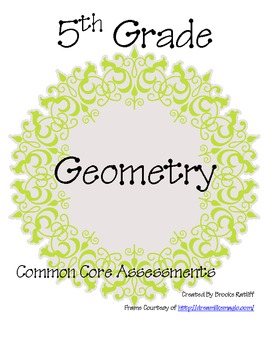 5th Grade Common Core Assessments Geometry
