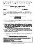 5th Grade Common Core Book Talk Book Report