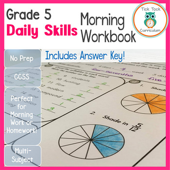 5th Grade Daily Skills Morning Work