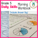 5th Grade Daily Skills Morning Work | Distance Learning