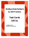 5th Grade Common Core Dividing Whole Numbers by Unit Fract