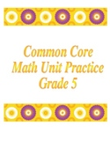 5th Grade Common Core Division Unit