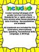 """5th Grade Common Core ELA """"I Can"""" Checklist (Ink Saver)"""