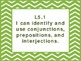 "5th Grade Common Core ELA ""I Can"" Statements/Learning Targets (Chevron)"