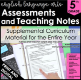 English Language Arts | Literacy Assessments and Teaching Notes (5th Grade)
