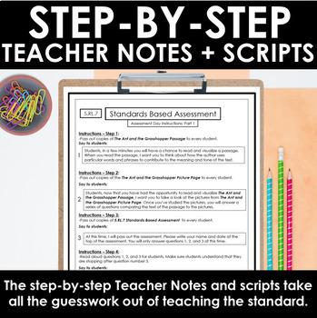 ELA Assessments - Language Arts Assessment for 5th Grade - ELA Test Prep