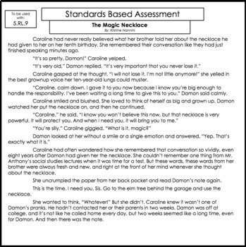 5th Grade Ela Assessments Reading Comprehension Grammar Writing