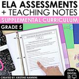 5th Grade ELA - Reading Comprehension Passages and Questio