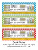 5th Grade Common Core Editable Desk Plates: Dots (4th Grade Too)