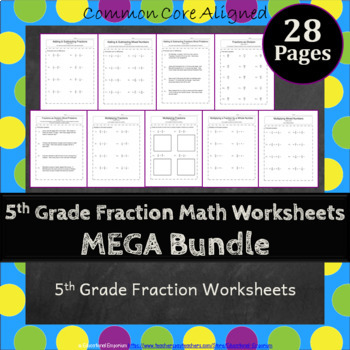5th Grade Fractions Worksheets 5NF Worksheets 5th Grade Fr