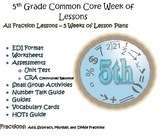 5th Grade Common Core Fractions Bundle