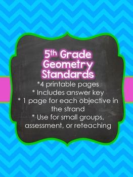 5th Grade Common Core Geometry (5.G)