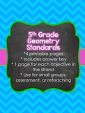 5th Grade Common Core Geometry (5.G)