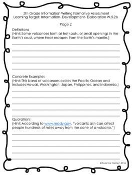 narrative writing prompts 5th grade common core