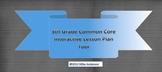 5th Grade Common Core Interactive School Year Lesson Plan Tool