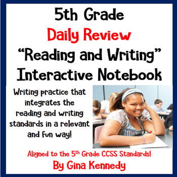 5th Grade Daily Language Arts Review Practice, Reading and Writing Practice!
