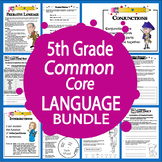 5th Grade LANGUAGE Bundle (Daily Language Practice + 5th Grade Grammar Unit)