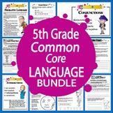 5th Grade Language – Daily Grammar Practice + Common Core ELA Bundle