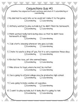 5th Grade Common Core Language Quizzes