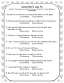 5th Grade Common Core Language Quizzes