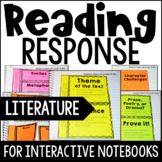Reading Response Interactive Notebook {Common Core: Literature}