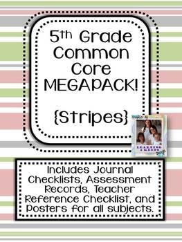 5th Grade Common Core MEGAPACK! (Stripes)