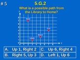 5th Grade Common Core Math 5 G.2 Geometry Coordinate Plane 5.G.2