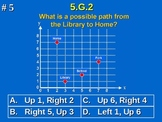 5th Grade Common Core Math 5 G.2 Geometry Coordinate Plane 5.G.2