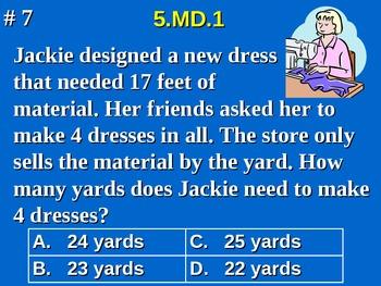 5th Grade Common Core Math 5 MD.1 Convert Measurement Units  5.MD.1
