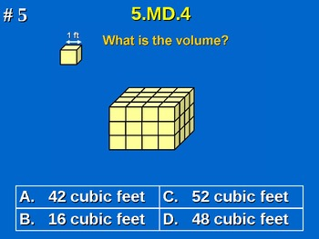 5th Grade Common Core Math 5 MD.4 Measurement and Data 5.MD.4
