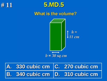 5th Grade Common Core Math 5 MD.5 Measurement and Data 5.MD.5