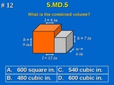 5th Grade Common Core Math 5 MD.5 Measurement and Data 5.MD.5