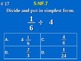 5th Grade Common Core Math 5 NF.7 Divide Unit Fractions by