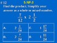5th Grade Common Core Math 5.NF.6 Multiplication of Fractions and Mixed Numbers
