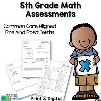 picture relating to 5th Grade Math Assessment Test Printable called 5th Quality Math Opinions Pre Write-up Exams