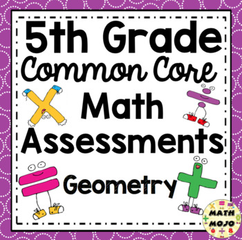 5th Grade Common Core Math Assessments: Geometry