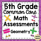 5th Grade Math Assessments: Common Core Geometry