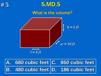 5th Grade Common Core Math Comprehensive Practice #3 All 2