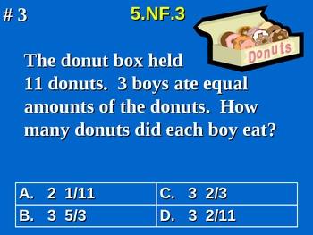 5th Grade Common Core Math Comprehensive Practice #4 All 2