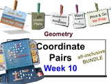 Week 10 Coordinate Pairs 5th Grade Common Core Math EDI Lesson Plans