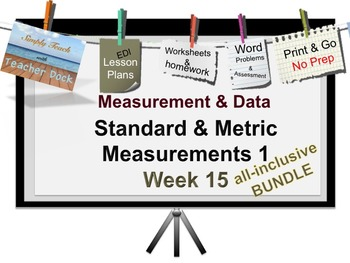 Week 15 Measurement 5th Grade Common Core Math EDI Lesson Plans