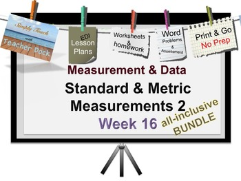 Week 16 Measurement 5th Grade Common Core Math EDI Lesson Plans