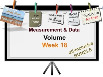 Week 18 Volume 5th Grade Common Core Math EDI Lesson Plans