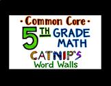 5th Grade Common Core Math Flash Cards