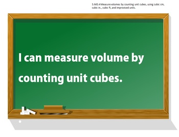 5th Grade Common Core Math I CAN statement posters (73 pages!)