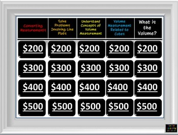 5th Grade Common Core Math Jeopardy Bundle