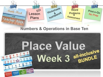 Week 3 Place Value 5th Grade Common Core Math Lessons Revised