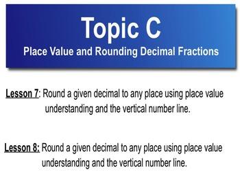 5th Grade CC Math Module 1 Topic C