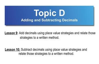 5th Grade CC Math Module 1 Topic D